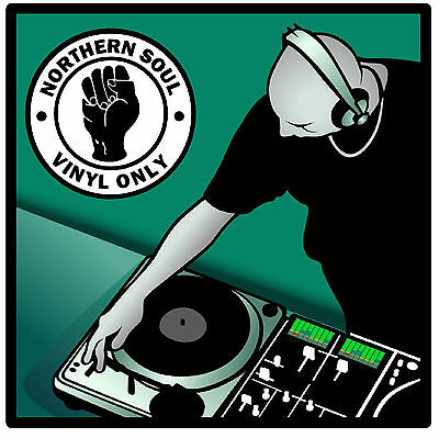 Northern Soul (vinyl Only) - Set Of 4 Fun Coasters - Brand New - Gift / Present • 6.99£