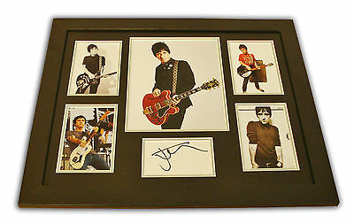 Johnny Marr Signed Photo Large Framed The Smiths Music Autograph Display + COA • 169.99£