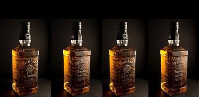 Lemmy Motorhead - Jack Daniels, Empty Engraved Bottle & FREE UK Post • 29.99£