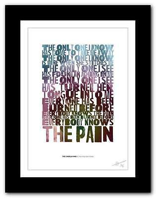 THE CHARLATANS ❤ The Only One I Know ❤ Song Lyrics Typography Poster Print #107 • 14.95£