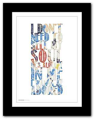 THE STONE ROSES ❤ I Wanna Be Adored ❤ Poster Art Edition Ed Print In 5 Sizes #5 • 15.95£