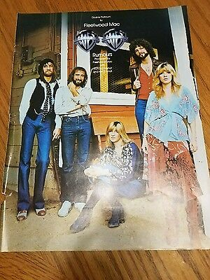 1977 Billboard Magazine Ad  Fleetwood Mac Group Shot  • 15.62£