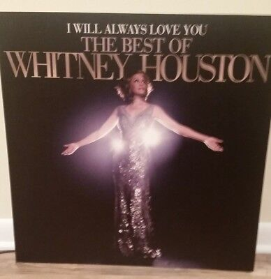 WHITNEY HOUSTON Display Poster Board * RARE! Promo Only  • 22.51£