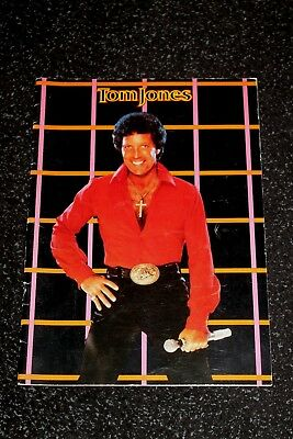 Tom Jones In Concert - Programme - 1983 • 10£