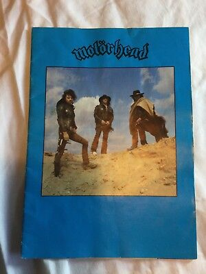 Motorhead Tour Program • 30£