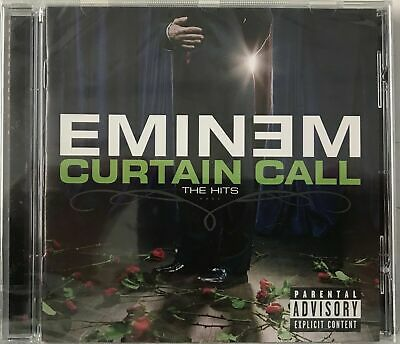 EMINEM - CURTAIN CALL: THE HITS (VERY BEST OF / GREATEST HITS) (CD) New Sealed • 4.99£