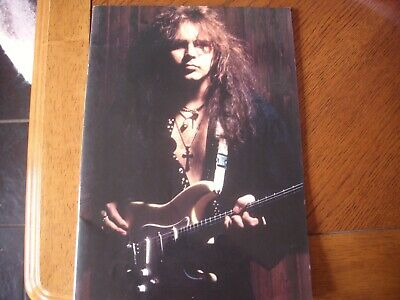 Yngwie Malmsteen Japanese Tour Programme 1994 Seventh Sign Tour • 26.99£