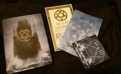 HIM H.I.M His Infernal Majesty Dark Light Ltd Heartagram Ville Valo Tin RARE • 54£