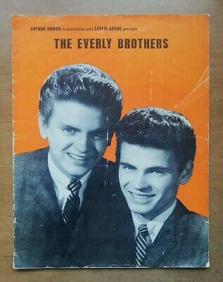 The Everly Brothers (1960) UK Tour Programme. • 19.99£