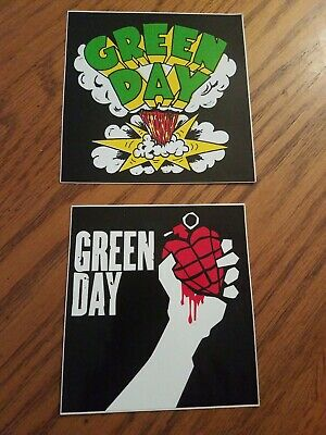 Green Day Two Stickers  • 11.72£