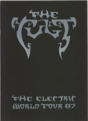 Cult The Electric World Tour '87 Tour Programme UK TOUR PROGRAM 1987 • 25.75£