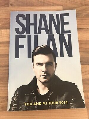 Shane Filan (Westlife) 2014 Solo Tour Programme, ONLY 1 ONLINE! GREAT CONDITION • 13.95£