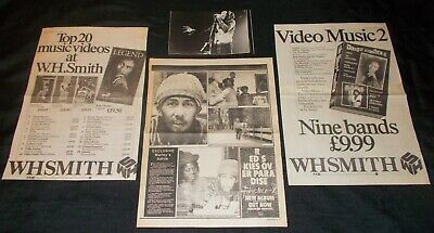 BOB MARLEY - COLLECTION OF 1980's MAGAZINE ADVERTISEMENTS • 3.99£