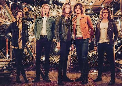 BLOSSOMS HAND SIGNED 12x8 PHOTO CHARLEMAGNE, AT MOST A KISS - TOM OGDEN 5. • 34.99£