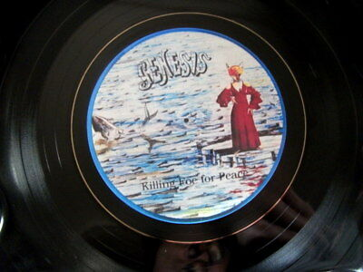 Genesis Killing Foe For Peace  Vinyl Lp Retro Bowl Ideal Gift Quality Item. • 12.99£