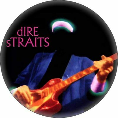 Dire Straits Money For Nothing Vinyl Sticker 100mm Round 4   B2g 1 Free • 2£