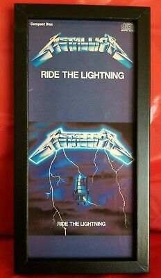 Metallica- Ride The Lightning  - Cd Longbox  No Cd • 26.26£