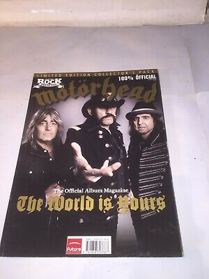 Motorhead The Official Album Magazine The World Is Yours • 9.30£