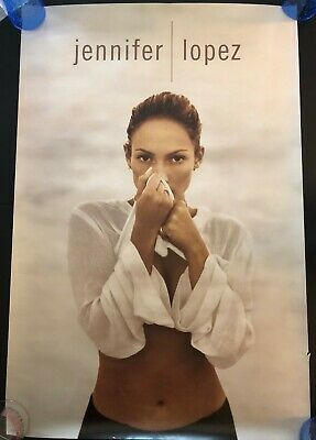 Jennifer Lopez On The 6 Original Promo Poster Never Hung 24x36 Diddy Puff Daddy • 15.76£