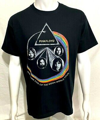 PINK FLOYD - Dark Side Of The Moon World Tour - Official T-Shirt (L) OG 2011 New • 12.99£