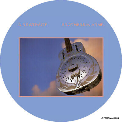 Dire Straits Brothers In Arms Vinyl Sticker 100mm 4  Quality. Buy 2 Get 1 Free • 2£