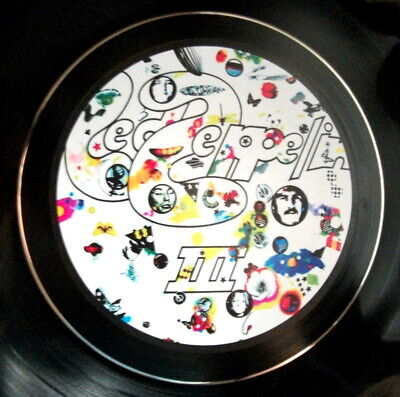 Led Zeppelin Iii  Vinyl Lp Retro Bowl High Quality ,,others Listed Ideal Gift  • 12.99£