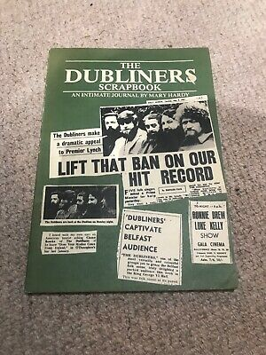 1978 The DUBLINERS Scrap Book 96 Pages An Intimate Journal By Mary Hardy • 90£