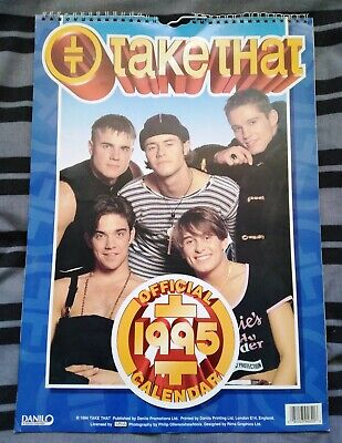 1995 Official Take That Calendar • 12£