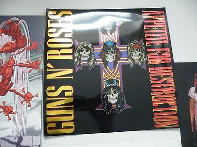 Guns N' Roses ‎ Appetite For Destruction  2x 180g Ltd Edt Vinyl Lp Hologram Mp3 • 21.99£