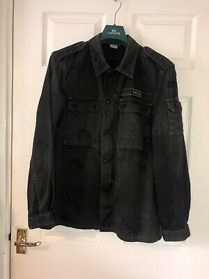 Oasis Band Jacket Rare Noel Liam Gallagher Overshirt Military Style Casuals 90s • 199.99£