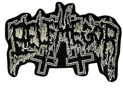 BELPHEGOR - Logo - Woven Patch Sew/ Iron On Rare Death Metal Black   • 4.25£