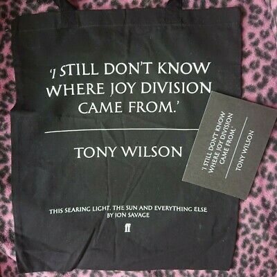 Joy Division - This Searing Light, The Sun And Everything Else - Promo Tote Bag  • 39.95£
