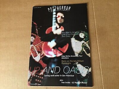 U2 Propaganda World Service Magazine Issue 27.winter 1997. • 10£