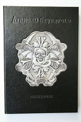 Avenged Sevenfold A7X Limited Edition CD Black Book Collectors 2010 • 69.95£