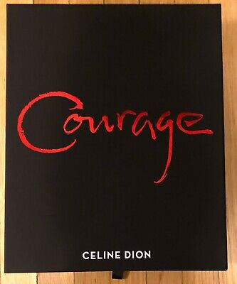 Celine Dion Courage Tour 2019 Full VIP Merchandise Box BRAND NEW - SEE PICTURES • 38.30£