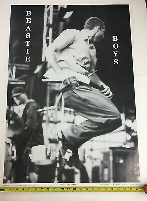 Beastie Boys Black And White Concert Poster • 12.70£