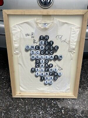Stone Roses Signed Official Shirt From Coachella Festival 2013 • 598£