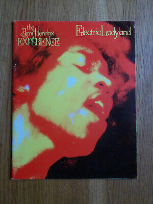 The Jimi Hendrix Experience Electric Ladyland Original 1969 Sheet Music Book VGC • 10£