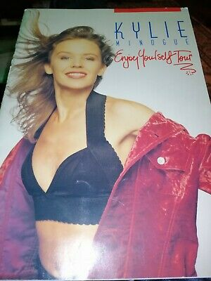 Kylie Minogue Enjoy Yourself Tour Programme 1990 - 2nd Version • 9.50£