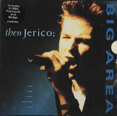 Then Jerico Big Area UK 7  Box Set LONP204 LONDON 1988 • 14.94£