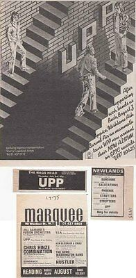 UPP : CUTTINGS COLLECTION - Adverts 1975 • 3.50£