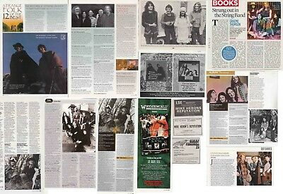 THE INCREDIBLE STRING BAND : CUTTINGS COLLECTION - Adverts Interviews  • 5.30£