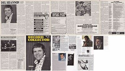 DEL SHANNON : CUTTINGS COLLECTION - Interview   • 3.50£