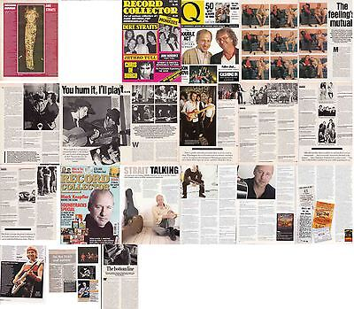 DIRE STRAITS : CUTTINGS COLLECTION - Interviews • 5£
