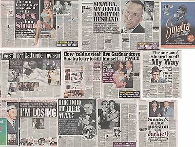 FRANK SINATRA : CUTTINGS COLLECTION - Newspaper Articles  • 5£