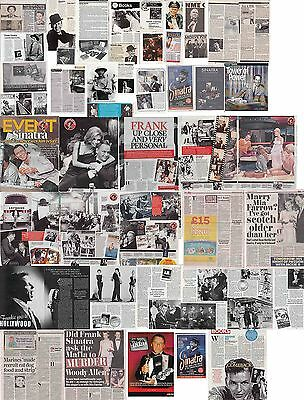 FRANK SINATRA : CUTTINGS COLLECTION - Magazine Articles  • 5£