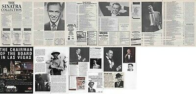 FRANK SINATRA : CUTTINGS COLLECTION - Magazine Articles  • 4£