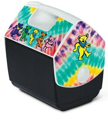 Grateful Dead Igloo Cooler LIMITED EDITION DANCING BEARS Brand New Fast Shipping • 47.38£