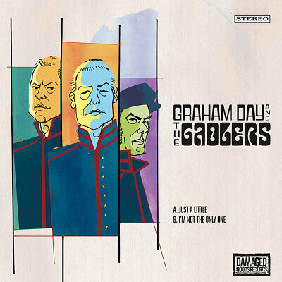 GRAHAM DAY & THE GAOLERS Just A Little Vinyl 7  Mod Psych Prisoners Woggles • 6.50£