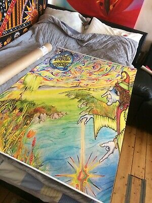"""OZRIC TENTACLES Giant Poster Sized 60"""" X 40"""" Pungent Effulgent • 30£"""